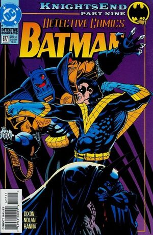Cover for Detective Comics #677