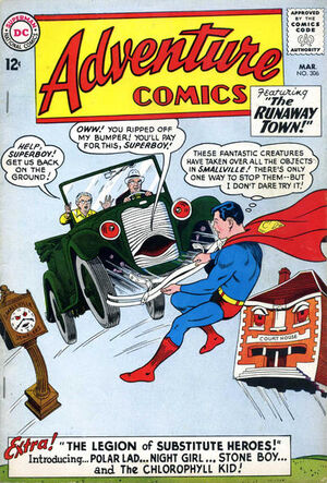 Cover for Adventure Comics #306