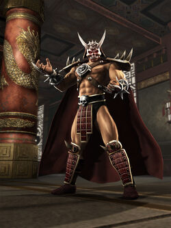 Shao kahn render