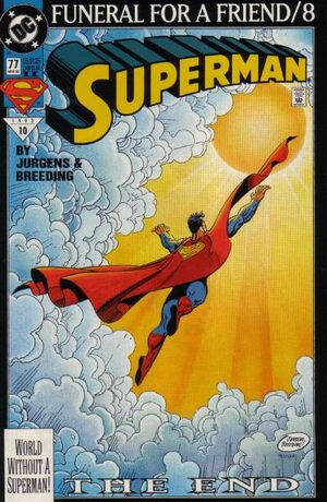Cover for Superman #77