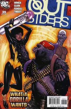 Cover for Outsiders #39