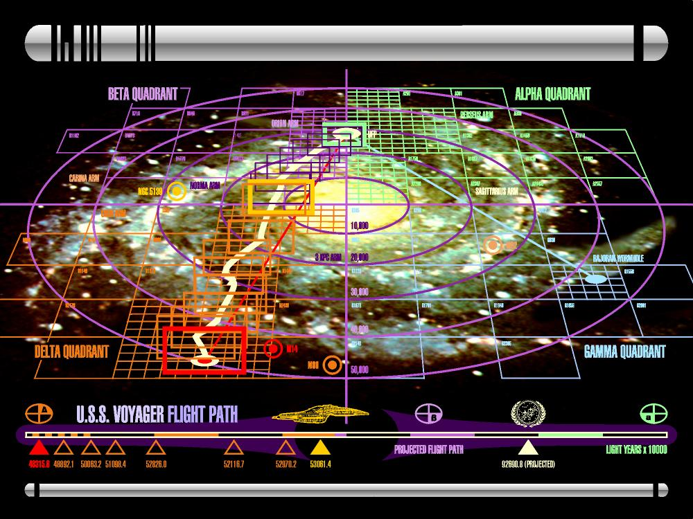 Star Trek Galaxy Map | The Trek BBS