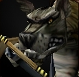 Gnoll poacher face
