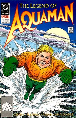 Cover for Legend of Aquaman #1