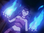 Azula&#39;s blue flames