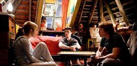 Trio in Ron's Room