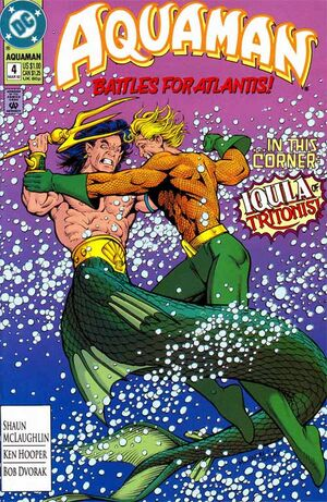 Cover for Aquaman #4