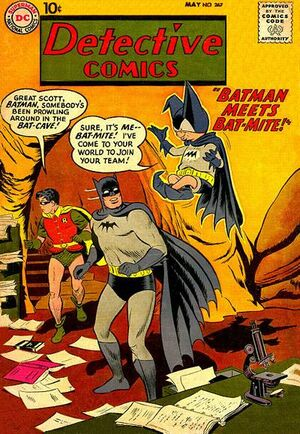 Cover for Detective Comics #267