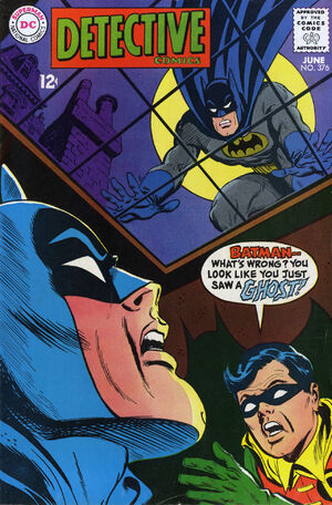 Cover for Detective Comics #376