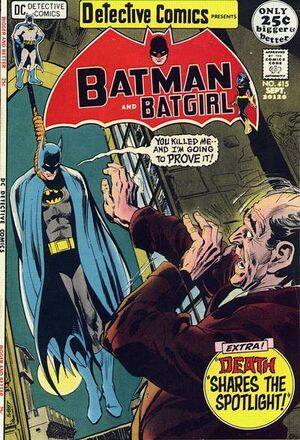 Cover for Detective Comics #415