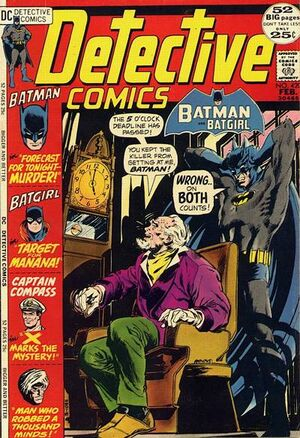 Cover for Detective Comics #420
