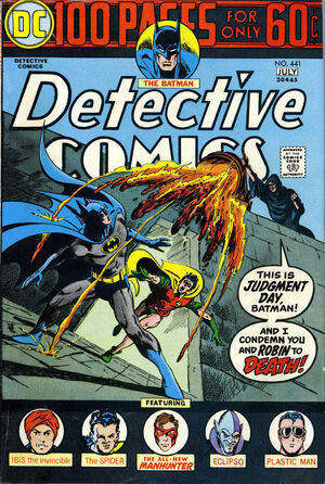 Cover for Detective Comics #441