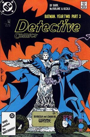 Cover for Detective Comics #577