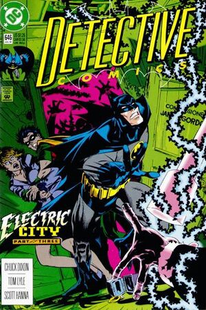 Cover for Detective Comics #646