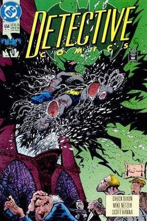 Cover for Detective Comics #654