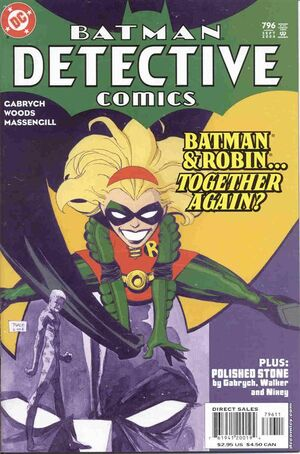 Cover for Detective Comics #796