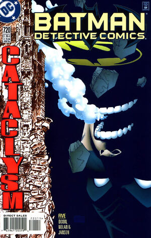Cover for Detective Comics #720