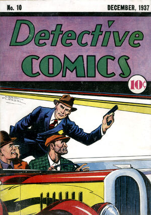 Cover for Detective Comics #10