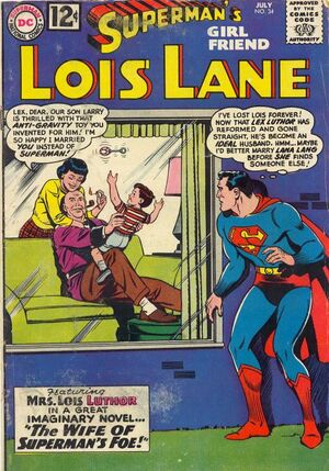 Cover for Superman&#39;s Girlfriend, Lois Lane #34
