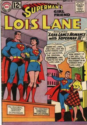 Cover for Superman's Girlfriend, Lois Lane #36