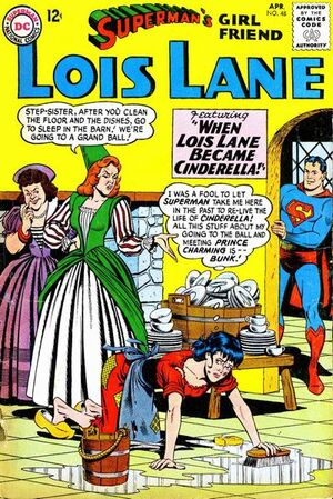 Cover for Superman&#39;s Girlfriend, Lois Lane #48