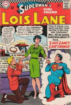 Cover for Superman's Girlfriend, Lois Lane #69