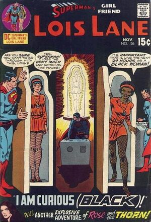 Cover for Superman&#39;s Girlfriend, Lois Lane #106