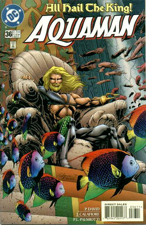 Cover for Aquaman #36