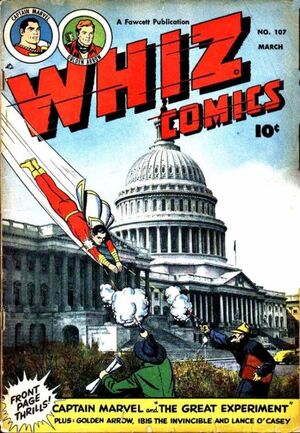 Cover for Whiz Comics #107