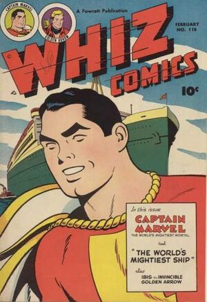 Cover for Whiz Comics #118