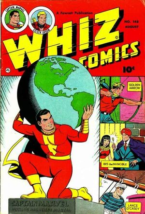 Cover for Whiz Comics #148