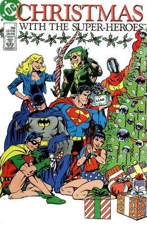 Cover for Christmas with the Super-Heroes #1