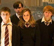 Harry Potter with Friends