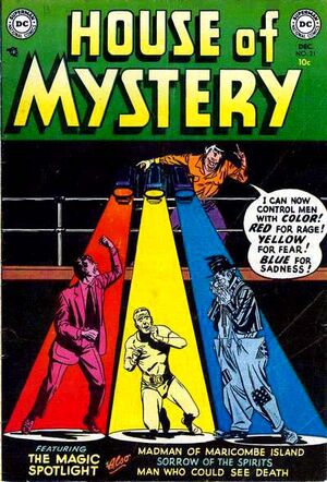 Cover for House of Mystery #21