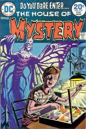 Cover for House of Mystery #222