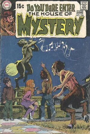 Cover for House of Mystery #186