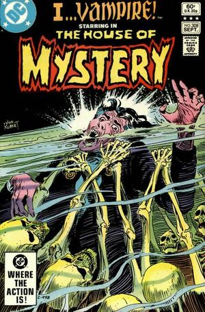 Cover for House of Mystery #308