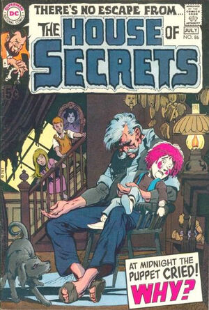 Cover for House of Secrets #86
