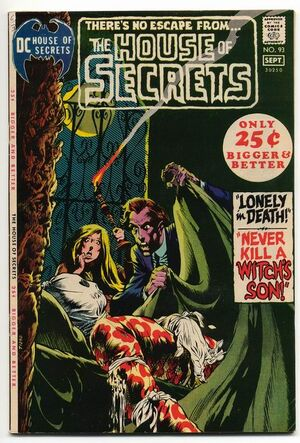 Cover for House of Secrets #93