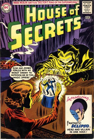 Eclipso's 1st Apperance in House of Secrets