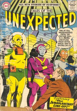 Cover for Tales of the Unexpected #16