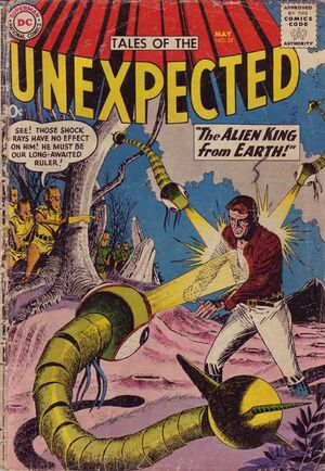 Cover for Tales of the Unexpected #37