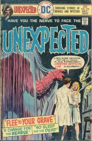 Cover for Unexpected #170