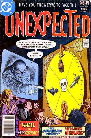 Cover for Unexpected #184