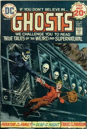 Cover for Ghosts #30