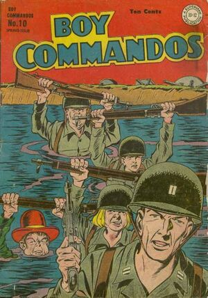 Cover for Boy Commandos #10