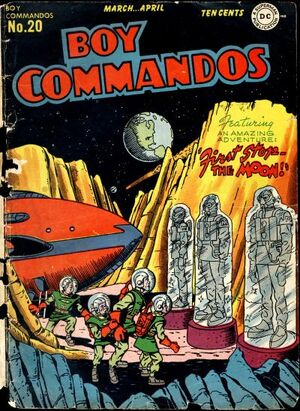 Cover for Boy Commandos #20