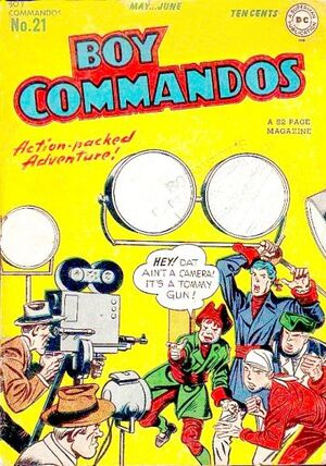 Cover for Boy Commandos #21