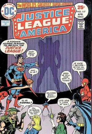 Cover for Justice League of America #117