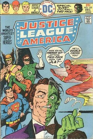 Cover for Justice League of America #125